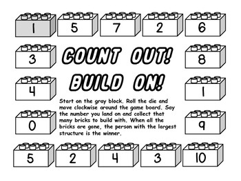 Count Out! Build On! Lego Math Game