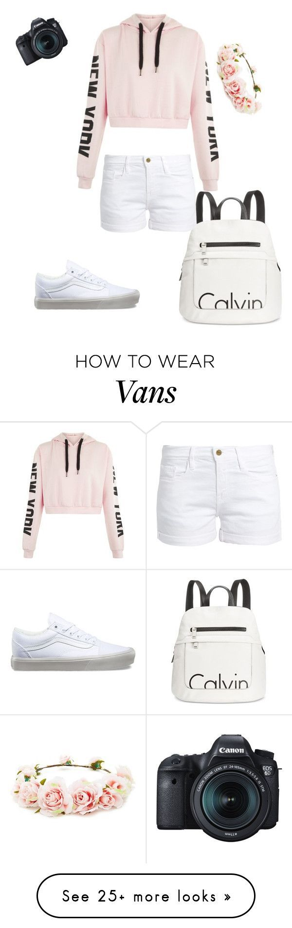 """""""Cochella vides"""" by marissamiller-1 on Polyvore featuring Calvin Klein, Frame, Vans, Eos and Forever 21 – StandOutContent Kits&Services"""