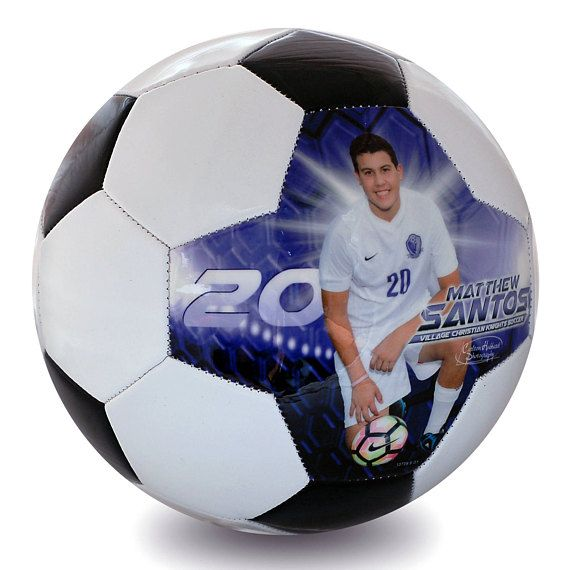 Custom Soccer Ball. What an awesome gift for a player or coach #coachgift #soccergift #soccermom #teamgift #soccerball Custom Made Soccer Ball- Soccer Senior Night Gift, Soccer Coach Gift, Soccer Senior Night, High School Soccer Gift, Personalized Soccer Gift afflnk