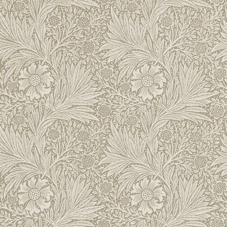 The Original Morris & Co - Arts and crafts, fabrics and wallpaper designs by William Morris & Company | Products | British/UK Fabrics and Wallpapers | Marigold (DM6P210371) | Archive Wallpapers