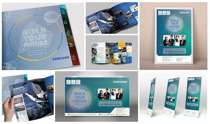 Samsung Company Profile design, Banner design, Flyer design, Poster design by SIGNIFICAN significan-design.com