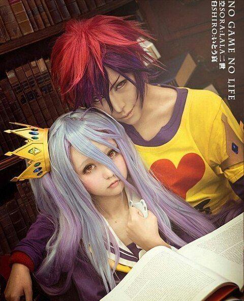 Anime : No Game No Life Character : sora & shiro Coser : LALAax & yitouai (taiwan) #cosplay #cosplayer#animegirl #nogamenolife #shironogamenolife #soranogamenolife #lovelive #vocaloid #eliayase #narutoshippuden #china #japan #korea #indonesia #imut #fairytail #bleach #cartoon #seksi #kawai #anime #animecosplay #followforfollow #follow4follow #like4likes #animeindo