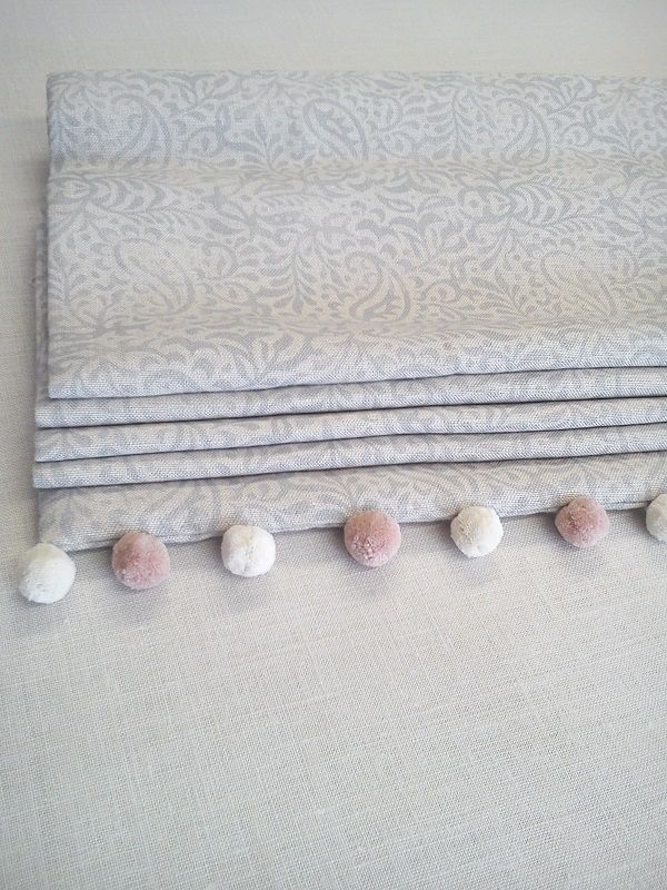 India Fog Roman Blinds Handmade in our workshop - Peony & Sage
