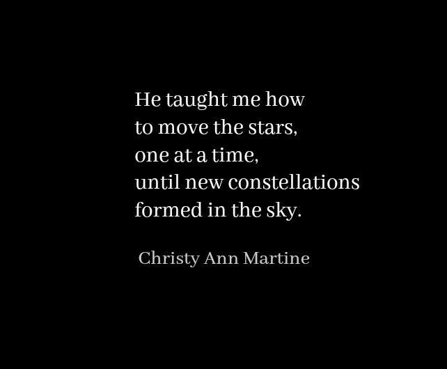 """An excerpt from the poem """"Endless Possibilities by Christy Ann Martine  - Love Quotes - Romantic Poetry - Poems - Poets"""