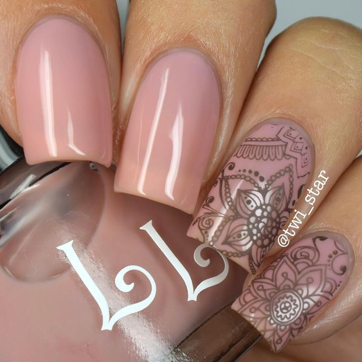 """Angel  on Instagram: """"For the next few days I'm going to be sharing some manis using polishes from the @luckylacquer Fall 2015 Collection!  First up is 'Hera,' a sheer pink nude that has a little bit of a rosey brown tone to it. I'm not crazy about visible nail line but it has grown on me a lot over the past year BUT I lovvvveeeeee this one!  This is only 2 coats!"""