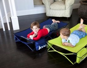 Kids cot for traveling! Love this for kids too big for a pack and play!