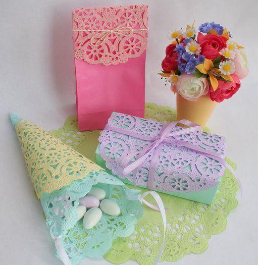 Doily Gift Wrap Ideas :Ð