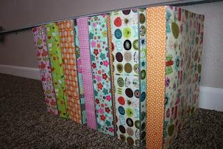 what a cool way to make ordinary binders more joyful!