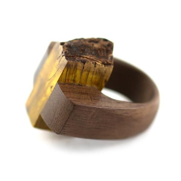 Gustav Reyes Ad Idem Ring - Walnut, salvaged wood from Norm Sartorius.