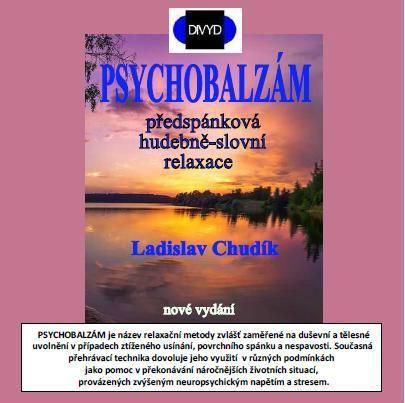 CD Psychobalzam - hudobnoslovná relaxácia DIVYD