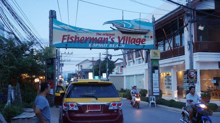 Fisherman's Village in Koh Samuii.