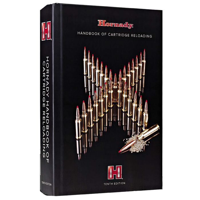 "Hornady  ""Handbook of Cartridge Reloading"" - 10th Edition Reloading Manual"