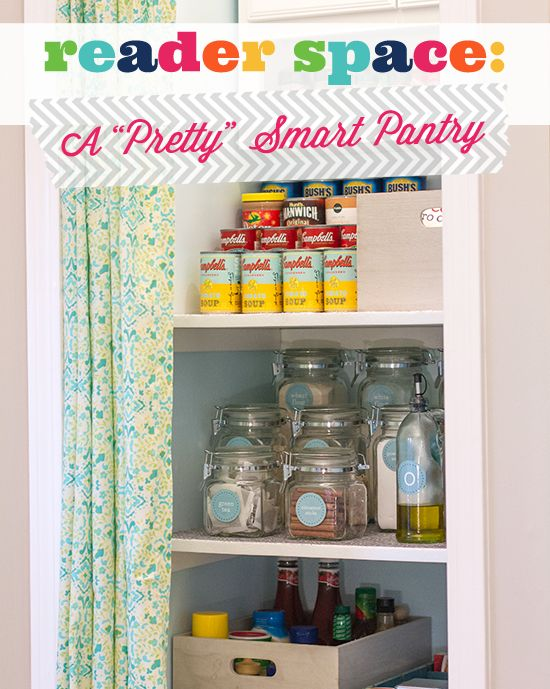 """IHeart Organizing: Reader Space: A """"Pretty"""" Smart Pantry!"""