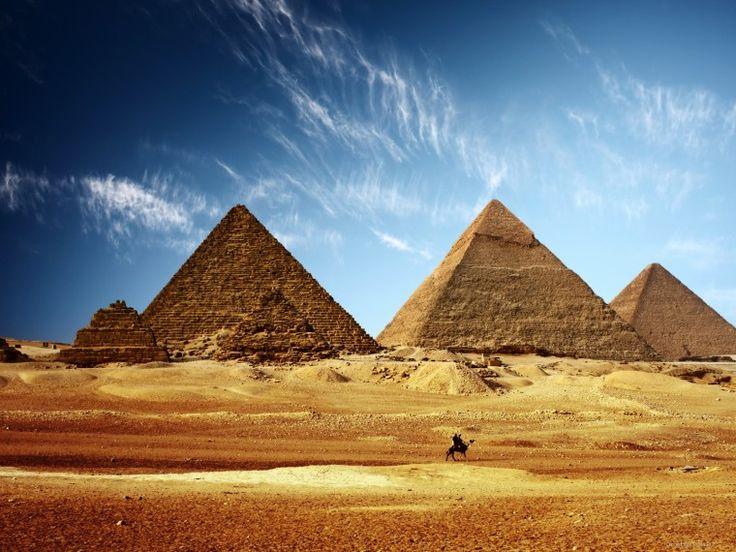 Египетские пирамиды - Обои для рабочего стола, картинки, фоны, заставки