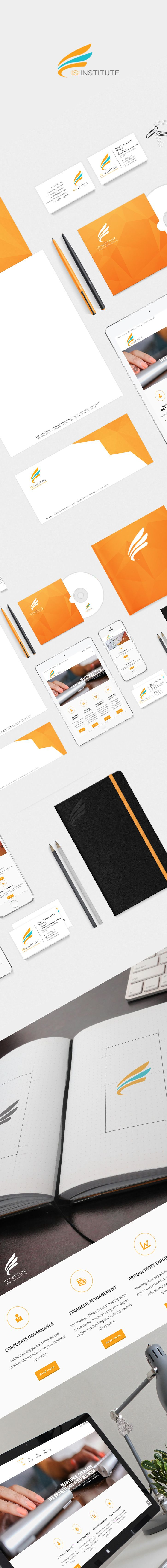 Branding and website for Euorpean Institute ISI.