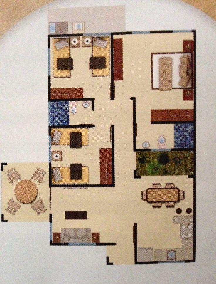 64 best floorplans images on pinterest | floor plans, small house