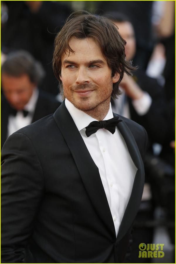 Ian Somerhalder at #CANNES2015 Redcarpet For 'Youth' Premiere  #AZZAROPOURHOMME (05/20/15)