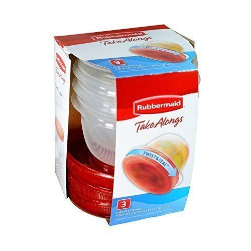 Rubbermaid TakeAlongs Food Storage Container (4-Pack of 3)