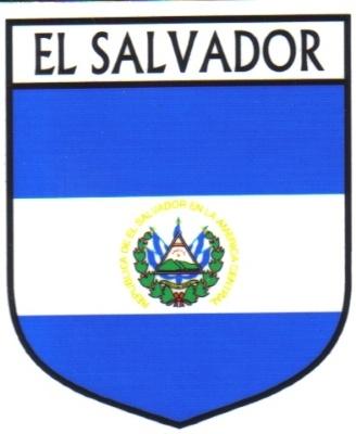 El Salvador National Flag Sticker