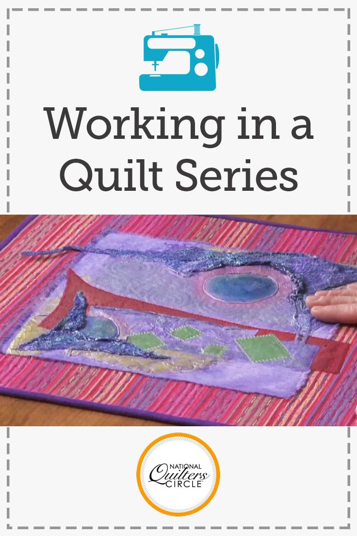 One of the best ways to become a better quilter and increase your skillset is to try working in a quilt series. Series work allows you to continually learn something new and experiment with new techniques, design concepts, and mediums. In this video, Heather Thomas shares her ideas and walks you through these concepts in one of her own quilt series.