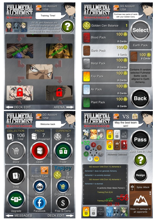 Check out the updates in version 1.24 of the Fullmetal Battle app.Fullmetal Battle, Battle App