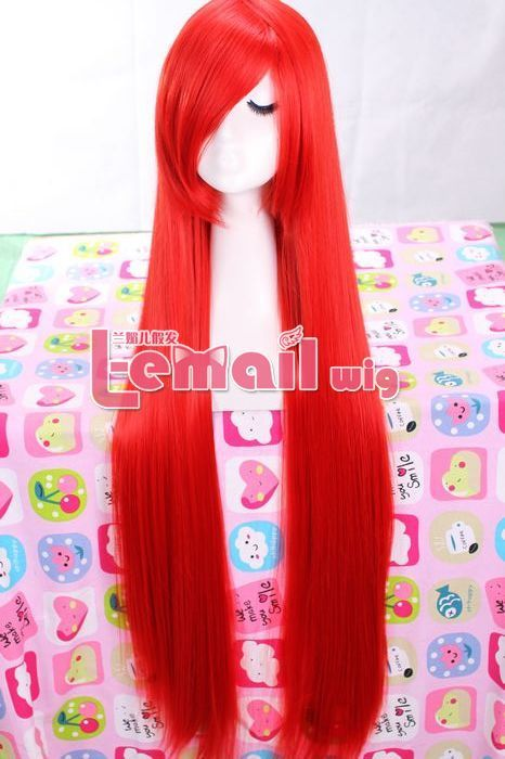 100cm long red tenghsieh straight cosplay wig ML41 [ML41] - $18.11 : Fasion jewelry promotion store,Shop cheap fashion jewelry and cosplay wigs at www.favorwe.com