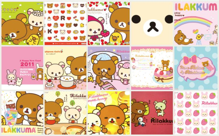 14 kawaii Rilakkuma desktop wallpapers! For more kawaii desktop wallpaper, check out www.CuteWallpapers.site! #kawaii #wallpaper #cute…