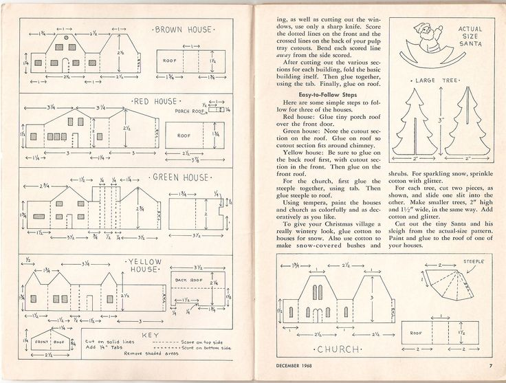 Templates for Putz Houses - Bing Images