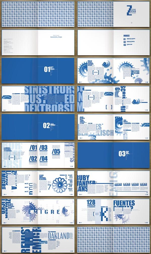 Libro Tipografico - Zuzana Licko by Boris Vargas Vasquez, via Behance