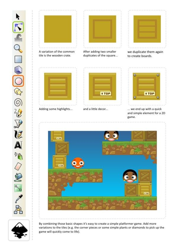 2D Game Art for Programmers: Continue the fun with squares