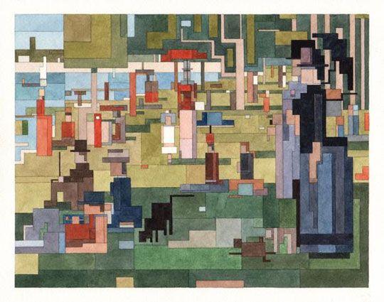 8 bitowe malarstwo → Inspiracje → Sztuka Design Architektura → Magazyn Akademia Sztuki