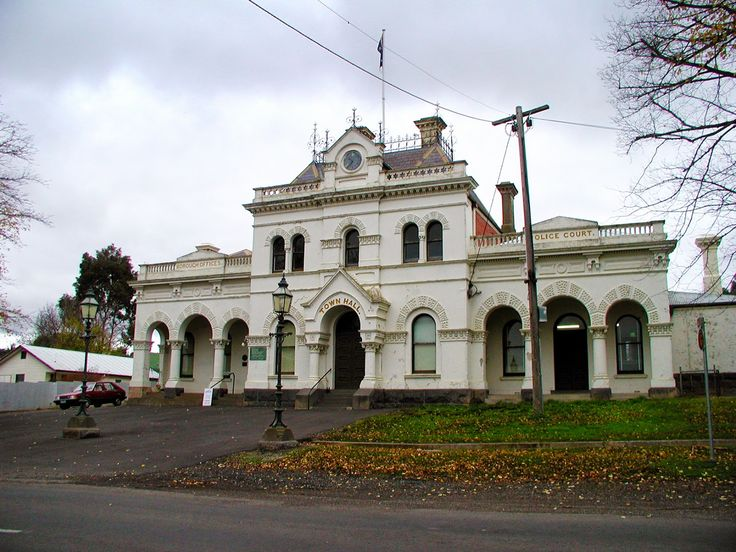 Melbourne Fresh Daily: CLUNES, VICTORIA - Clunes Town Hall