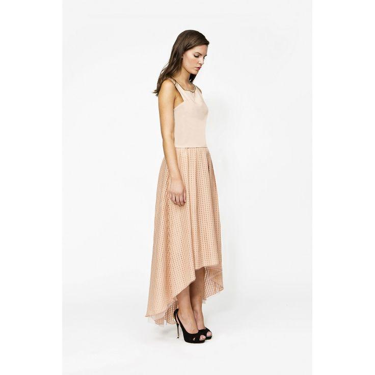 Falda tail hem - Estalot www.estalot.com #falda #skirt #top #ss16 #style #estalot