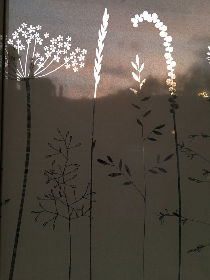 In The Tall Grass Window Film                      – Hannah Nunn         #glass #decor #patterned #windowfilm #frosted