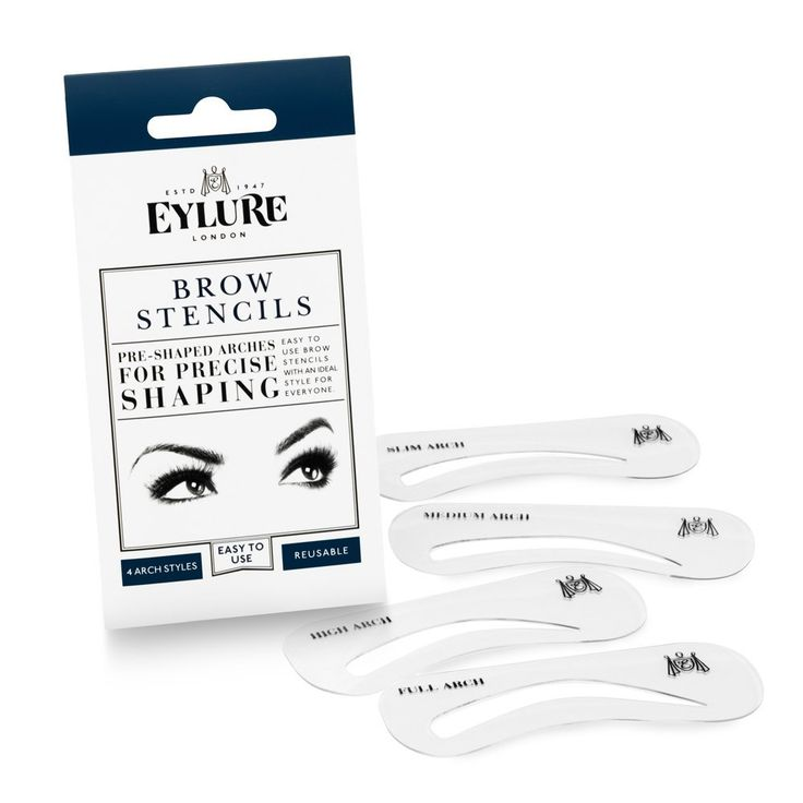 Eylure Brow Stencils | Pre-Shaped Arches For Precise Shaping