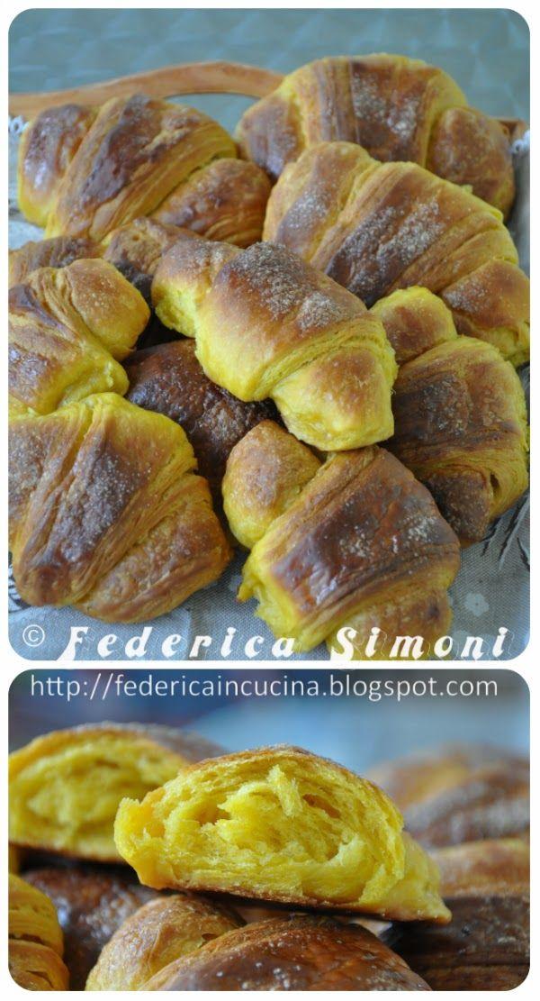 La cucina di Federica: Croissant alla zucca