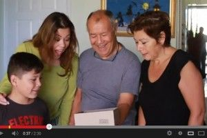 Grab the tissues...an adorable pregnancy announcement video! | #BabyCenterBlog