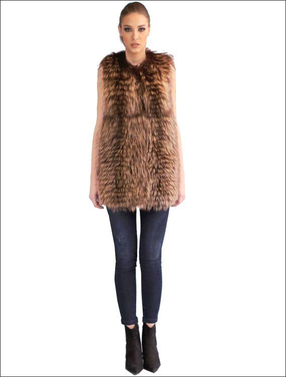 Γυναικείο γούνινο γιλέκο Γούνα: murmanski Τιμή: 680€