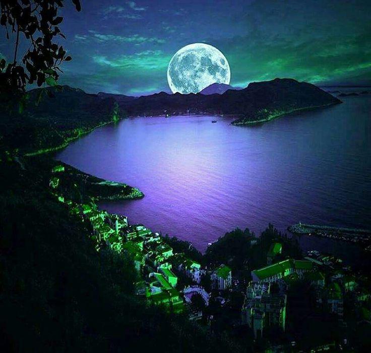 доброй ночи с луной фото картинки вашем уютном гнездышке