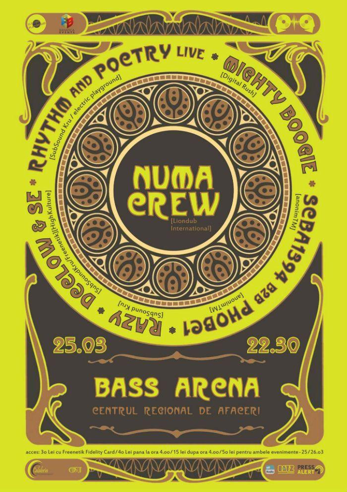 În seara de 25 martie, echipa Electric Playground aduce în fața ta doi DJ de la NUMA CREW.