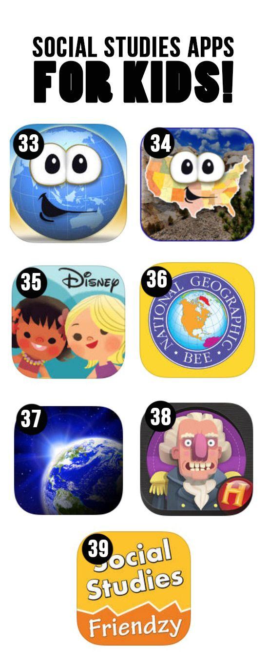 Best Social Studies Apps for Kids