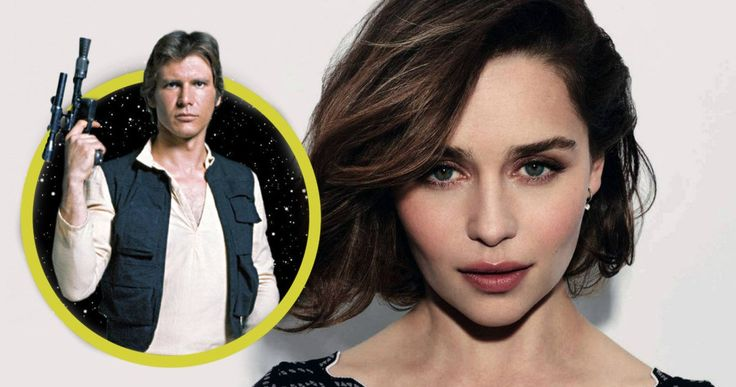 Han Solo Movie Gets Game of Thrones Star Emilia Clarke as the Female Lead -- Game of Thrones star Emilia Clarke is confirmed for the upcoming Han Solo: Star Wars spinoff. -- http://movieweb.com/han-solo-movie-cast-emilia-clarke-star-wars/