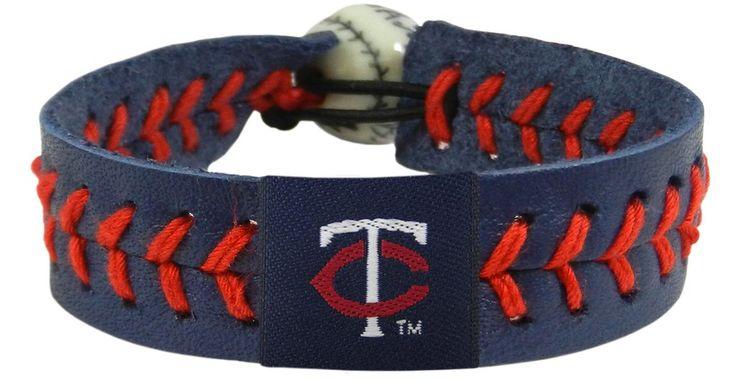 Minnesota Twins Baseball Bracelet - Team Color Style