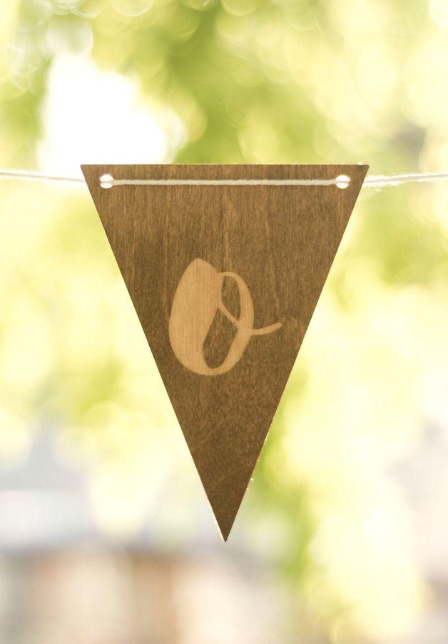 chorągiewki Grilanda dowolne litery - METHOD_SHOP - Dekoracje