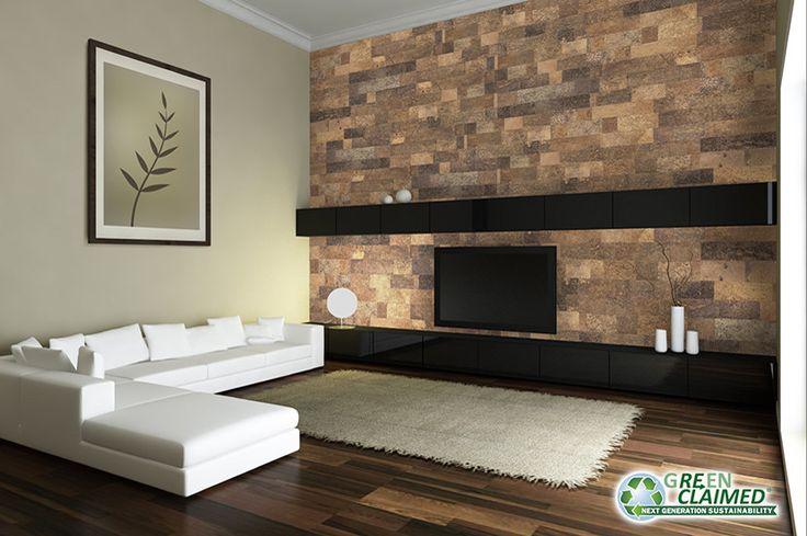 Wall Panel - Meadow Cork Decor Tile | GreenClaimed® - Cali Bamboo