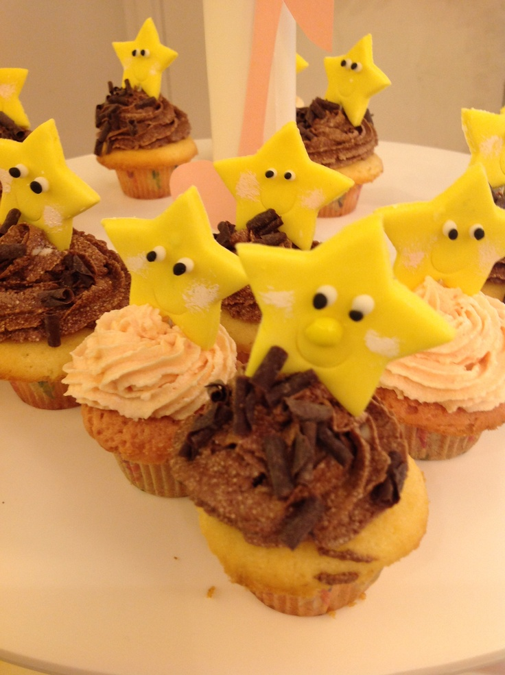 Shining night to everyone with twienkle little star # SessaSpecial CupCakes#