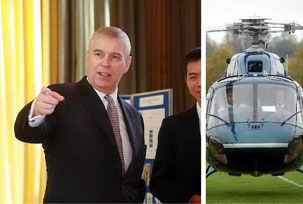 Prince Andrew abandons trip to Sevenoaks School 'due to adverse weather'