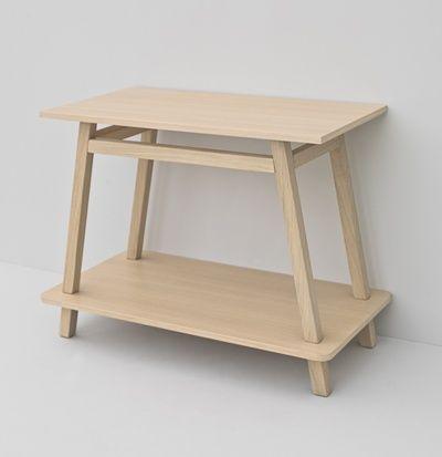 Naked System, design Meneghello Paolelli Associati. #TheArtceram Trapezio oak wood frame