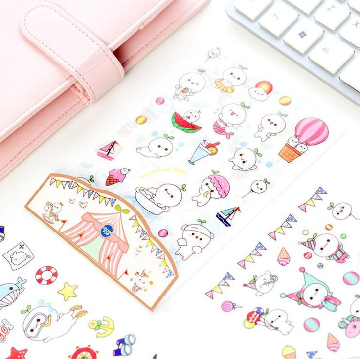 Find More Stationery Sticker Information about 6 pcs/set Cute White Pet With Grass Stickers Diary Sticker Scrapbook Decoration PVC Stationery Stickers,High Quality pet pet,China pcs set Suppliers, Cheap pet set from house of novelty Store on Aliexpress.com