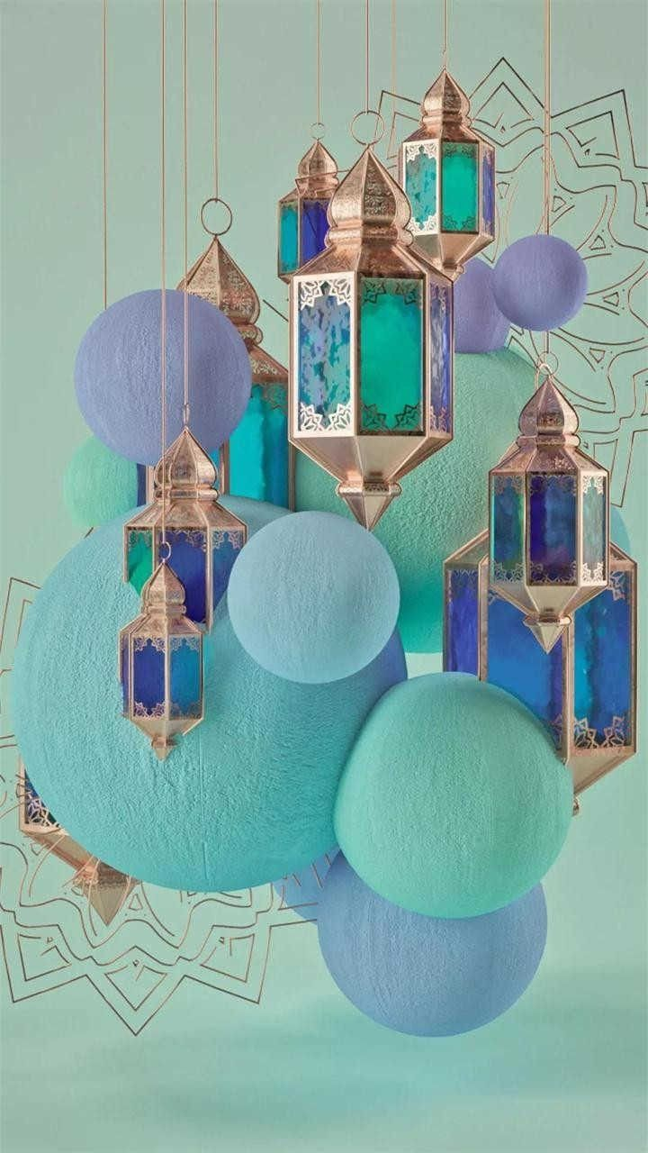 Pin By Lily On Beachy Holiday Ramadan Decorations Islamic Wallpaper Display Design